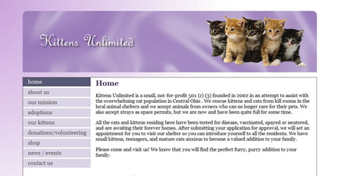Kittens Unlimited (Pet Rescue / Shelter)